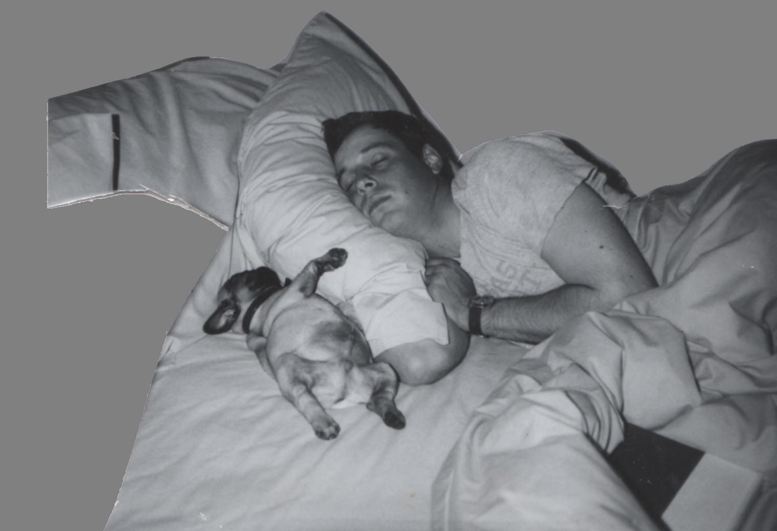 Man and Pug