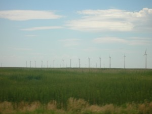 wind turbines in Montezuma